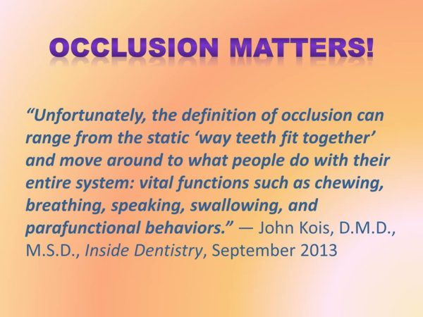 Occlusion Matters!